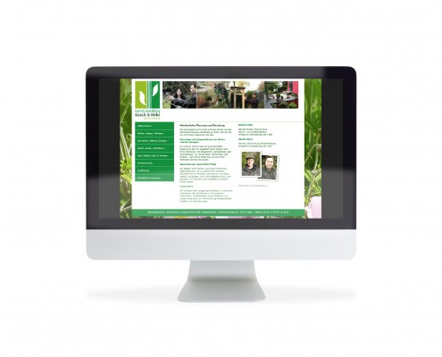 Webdesign Gartengestaltung