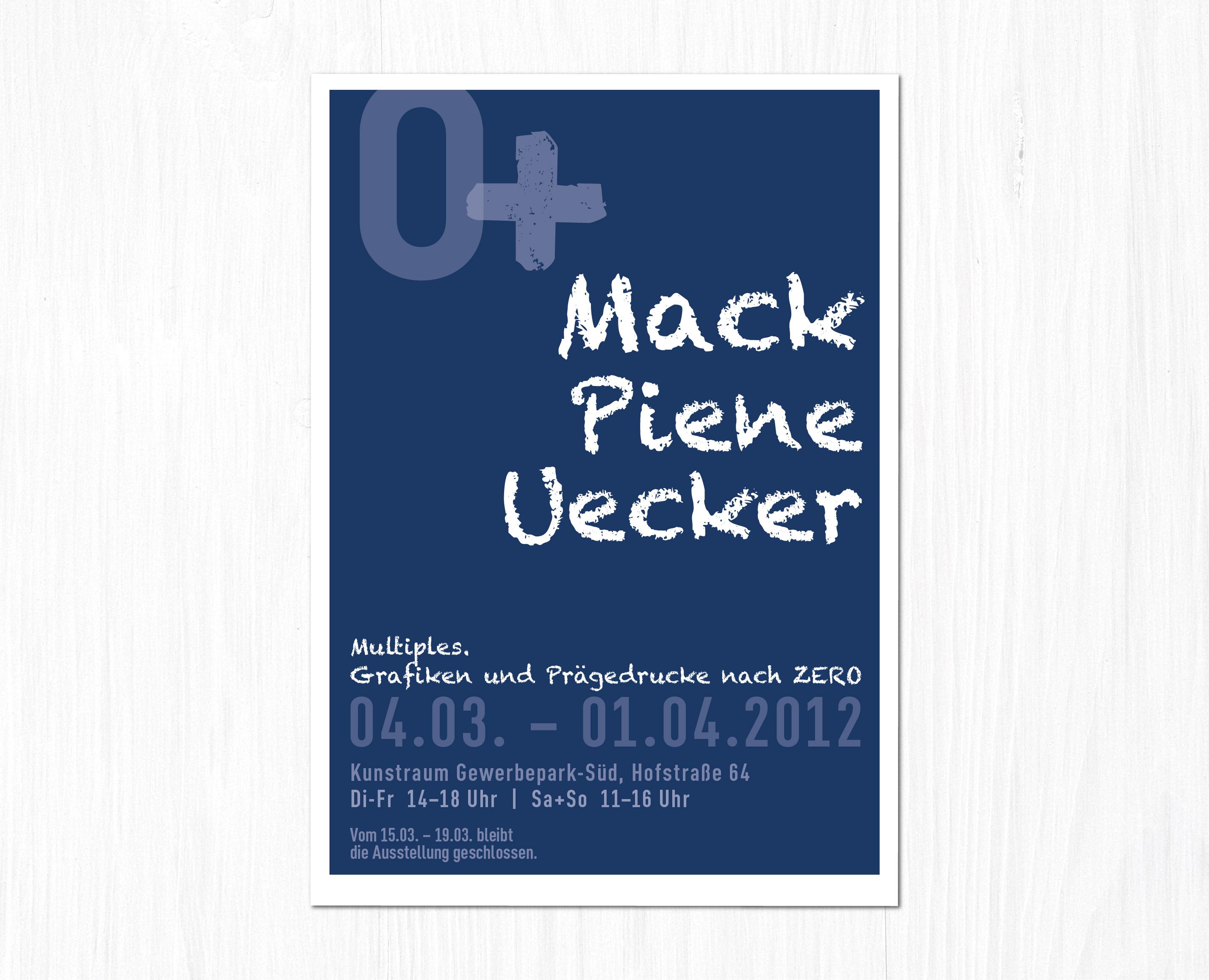 Grafik für Ausstellungsplakat Kulturamt Hilden