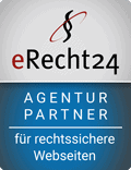 Siegel eRecht24 Agenturpartner