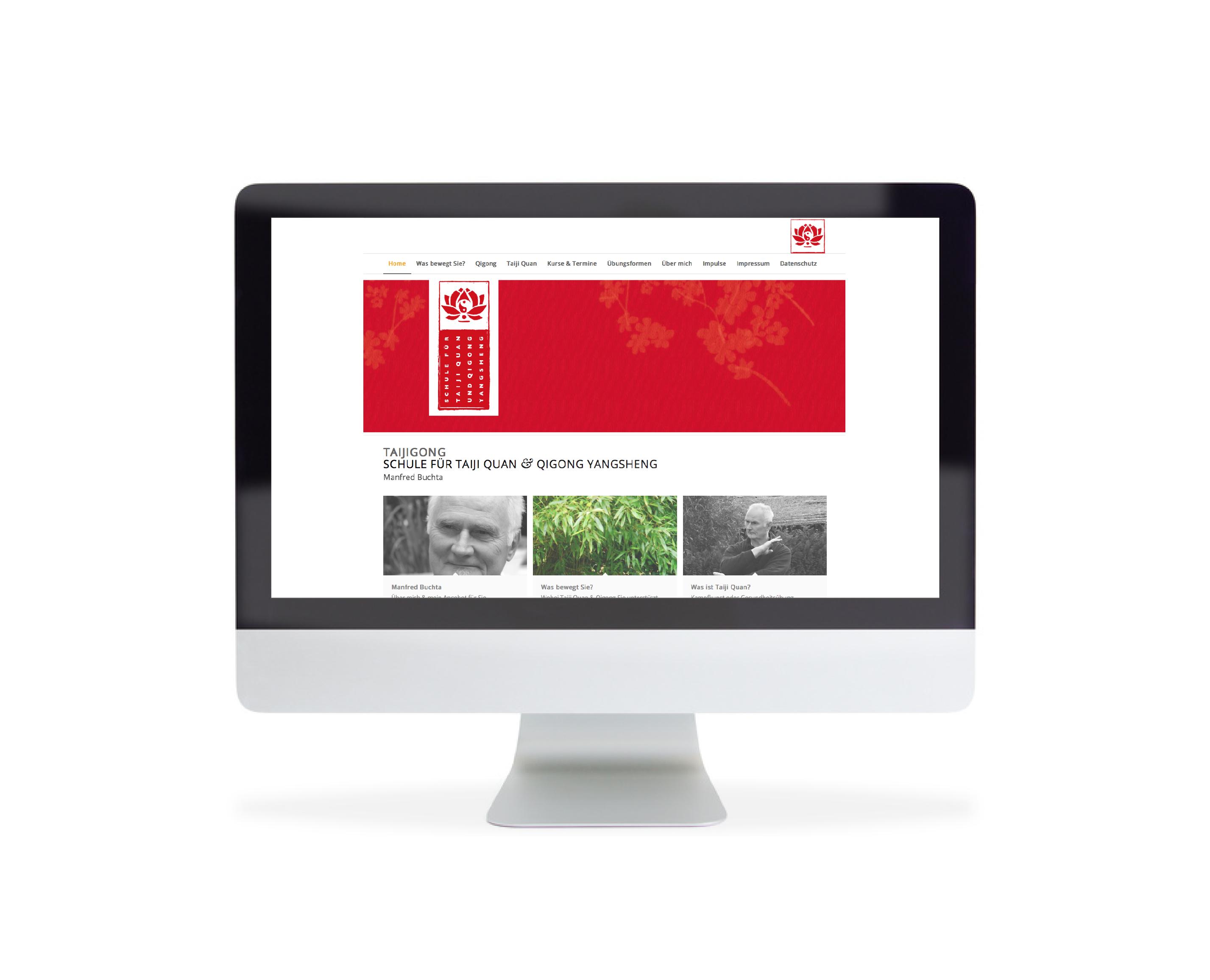 Webdesign Taiji und Qigong in Hilden