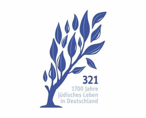 Logo Design für 321: 1700 Jahre jüdisches Leben in Deutschland e.V.