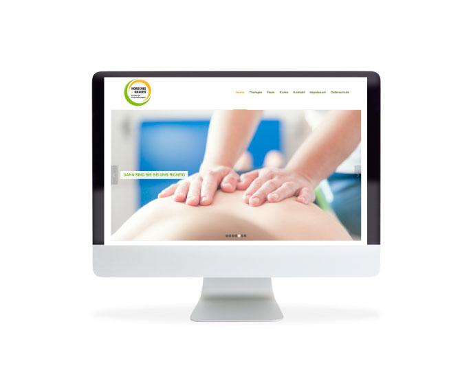 Webdesign aus Hilden: Praxis für Physiotherapie